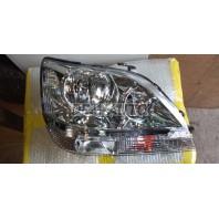 Rx300  Фара правая (USA) внутри хромированная