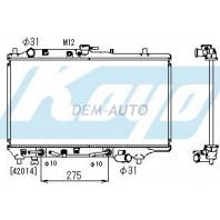 323f  Радиатор охлаждения автомат 1.6 1.8 (5 дв)