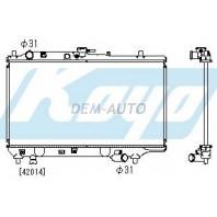 323f  Радиатор охлаждения механика 1.6 1.8 (5 дв) (KOYO)