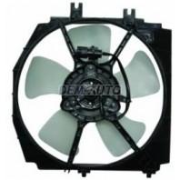 323f  Мотор+вентилятор радиатора охлаждения с корпусом (5 дв)
