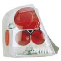 323  Фонарь задний внешний левый+правый (КОМПЛЕКТ) (4 дв) тюнинг (EAGLE EYES) внутри красный хромированный