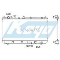 323  Радиатор охлаждения механика 1.4 1.6 1.9 (KOYO)