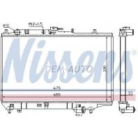 323  Радиатор охлаждения механика 1.6 1.8 (3 дв)