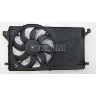 Focus {mazda 3  04-} Мотор+вентилятор радиатора охлаждения с корпусом (Китай)