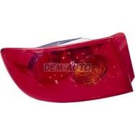 3  Фонарь задний внешний левый(СЕДАН) стекло красное