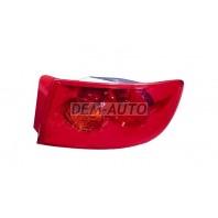3  Фонарь задний внешний правый (СЕДАН) стекло красное (Китай)
