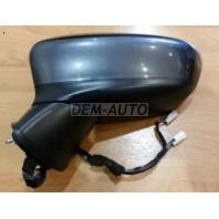 3  Зеркало левое электрическое с подогревом , диодным указателем поворота 6 контактов (aspherical)грунтованное
