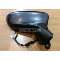 3  Зеркало правое электрическое с подогревом , диодным указателем поворота 6 контактов(convex) грунтованное