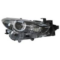 3  Фара правая с регулирующим мотором внутри черная (DEPO)