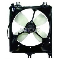 626  Мотор+вентилятор радиатора охлаждения с корпусом механика