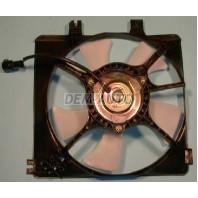 626  Мотор+вентилятор конденсатора кондиционера с корпусом 4 цилиндра