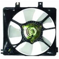 626  Мотор+вентилятор радиатора охлаждения правый с корпусом под кондиционер 2
