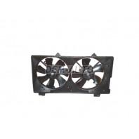 6  Мотор+вентилятор радиатора охлаждения двухвентиляторный 1.8 2 автомат с кондиционером