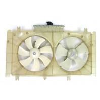 6  Мотор+вентилятор радиатора охлаждения двухвентиляторный автомат с кондиционером (Китай)