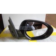 6  Зеркало правое автоскладывающееся , электрическое с подогревом (convex) грунтованное
