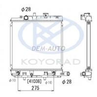Demio {festiva wagon}  Радиатор охлаждения автомат (KOYO)