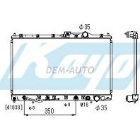 Galant  Радиатор охлаждения автомат 1.8 2 2.5 (1 ряд) (KOYO)