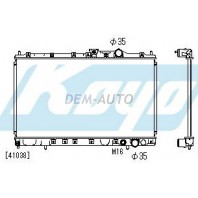 Galant  Радиатор охлаждения механика 1.8 2 2.5 (1 ряд) (KOYO)