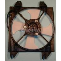 Galant  Мотор+вентилятор конденсатора кондиционера с корпусом