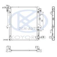 L200  Радиатор охлаждения 2.5 (дизель) автомат , механика (KOYO)