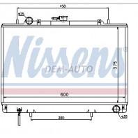 L200  Радиатор охлаждения механика2.5 (дизель)