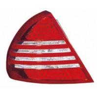 Lancer  Фонарь задний внешний левый+правый (комплект) тюнинг (седан) с диодными габаритами стоп сигнал красно-белый