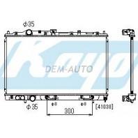Lancer  Радиатор охлаждения автомат 1.3 1.5 1.6 (1 ряд) (KOYO)