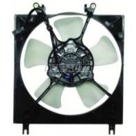 Lancer {+mirage1.5 /1.8 mt (96-02)}  Мотор+вентилятор радиатора охлаждения с корпусом