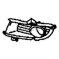 Lancer  Решетка бампера переднего левая с отверстием под противотуманку (Китай)