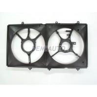 Lancer  Кожух вентилятора охлаждения радиатора двухвентиляторный (Китай)