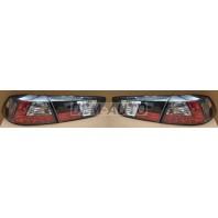 Lancer  Фонарь задний внешний+внутренний левый+правый (комплект) тюнинг с диодами прозрачный (SONAR) внутри хромированный