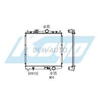 Lancer {colt 92-} Радиатор охлаждения механика 1.3 1.5 (KOYO)