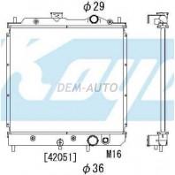 Lancer {colt}  Радиатор охлаждения механика 1.3 1.5 (KOYO)