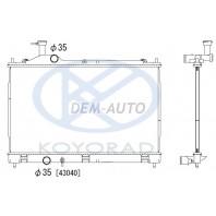 Outlander  Радиатор охлаждения механика (вариатор)(KOYO)