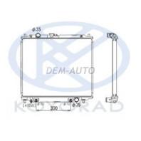 Pajero  Радиатор охлаждения автомат 2.8 (турбодизель) (KOYO){Для ЛЕВ РУЛЯ}