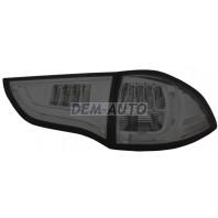 Pajero sport  Фонарь задний внешний+внутренний левый+правый (комплект) тюнинг с диодами тонированный (EAGLE EYES) внутри хромированный