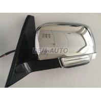 Pajero  Зеркало левое электрическое с подогревом, автоскладыванием, указателем поворота, подсветкой хромированное