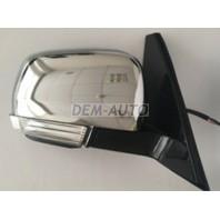 Pajero  Зеркало правое электрическое с подогревом, автоскладыванием, указателем поворота, подсветкой хромированное