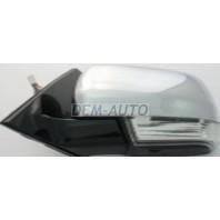 Pajero  Зеркало левое электрическое с указателем поворота (CONVEX) черное