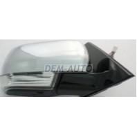 Pajero  Зеркало правое электрическое с указателем поворота (CONVEX) черное
