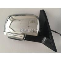 Pajero  Зеркало правое электрическое с подогревом автоскладыванием указателем поворота подсветкой (convex) (Тайвань) хромированное