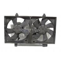 Almera classic  Мотор+вентилятор радиатора охлаждения в сборе (оригинал)