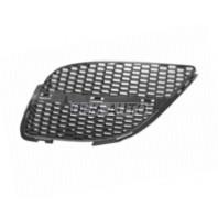 Almera  Решетка радиатора левая без молдинга черная