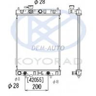 Cube  Радиатор охлаждения вариатор (CVT) (KOYO)