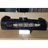 Micra  Бампер передний с отверстиями под противотуманки грунтованный