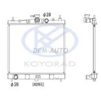 Micra {note 06-/clio 06-} Радиатор охлаждения механика 1.2 1.4 (KOYO)