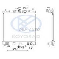 Micra {note 06-/clio 06-}  Радиатор охлаждения автомат 1.2 1.4 (KOYO)
