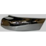 Pathfinder {terrano}  Боковина бампера передняя левая без отверстий под расширитель хромированная