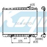 Patfinder {+terrano/qx4}  Радиатор охлаждения автомат 3.3 (KOYO)