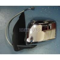 Patfinder {navara 06-} Зеркало левое электрическое (CONVEX) крышка хромированная